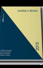 Analisi e Diritto 2015