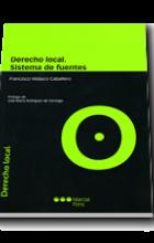 Derecho local. Sistema de fuentes